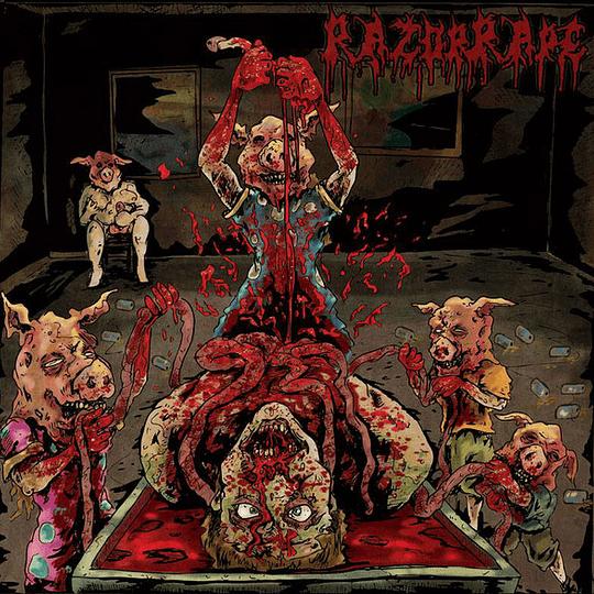 RAZOR RAPE - Slaughter Sluts Supremacy CD