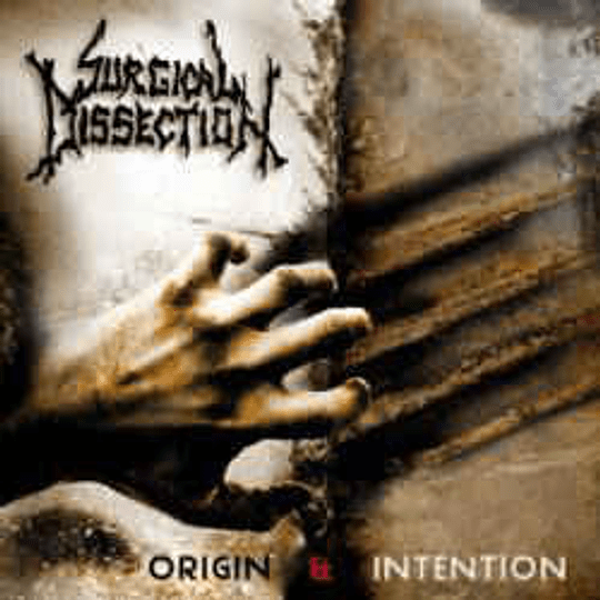 SURGICAL DISSECTION - Origin & Intention CD