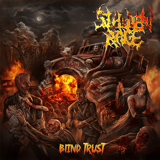 SUDDEN RAGE - Blind Trust CD