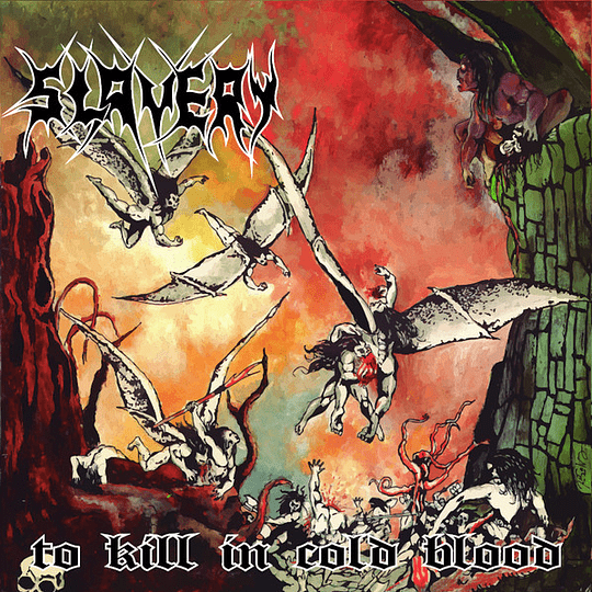 SLAVERY - To Kill In Cold Blood CD