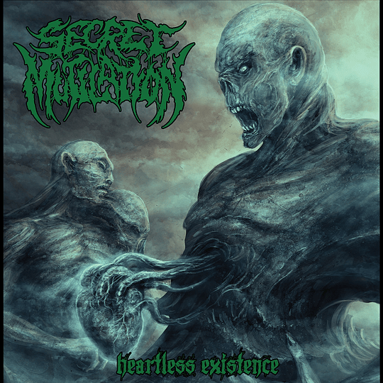 SECRET MUTILATION - Hearthless Existence CD