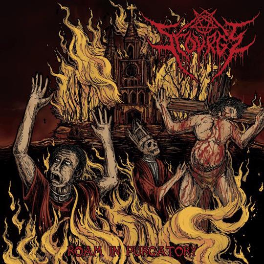 SCOURGE - Roam In Purgatory CD