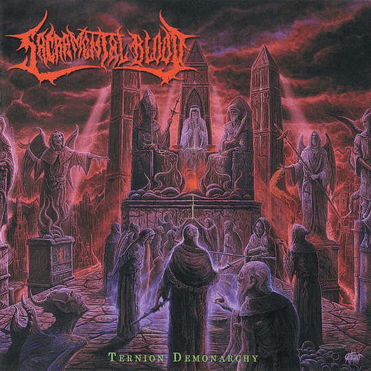 SACRAMENTAL BLOOD - Ternion Demonarchy CD