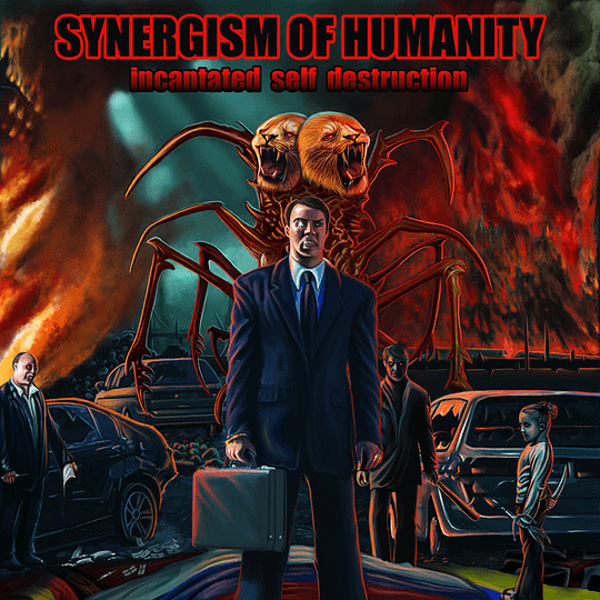 SYNERGISM OF HUMANITY - Incantated Self Destruction CD