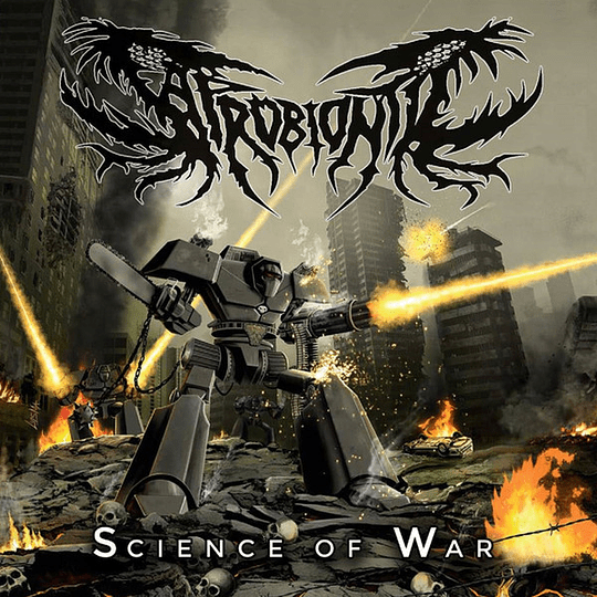 SAPROBIONTIC - Science of War CD