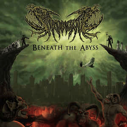 SAPROBIONTIC - Beneath The Abyss CD
