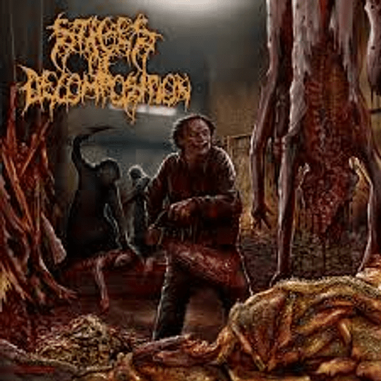 STAGES OF DECOMPOSITION - Piles Of Rotting Flesh CD