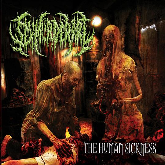 SEX MURDER ART - The Human Sickness CD