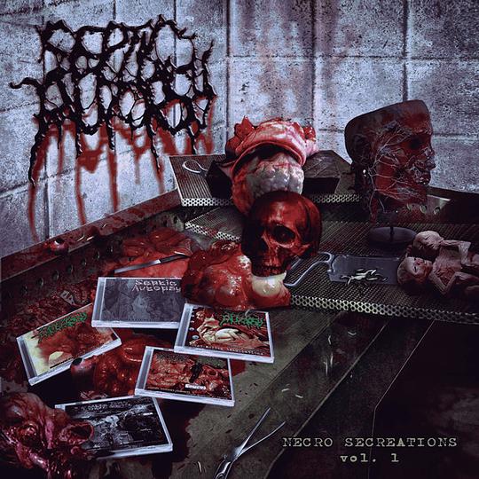 SEPTIC AUTOPSY -  Necro Secreations Vol. 1 CD