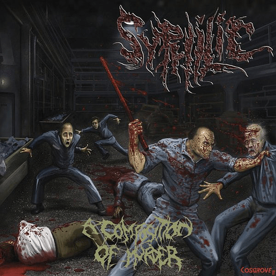 SYPHILIC - A Composition Of Murder CD