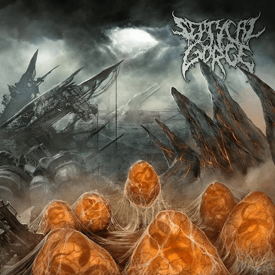 SEPTYCAL GORGE - Scourge Of The Formless Breed CD