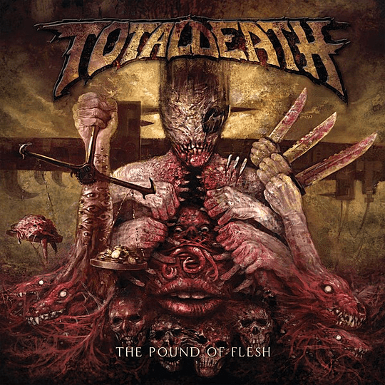 TOTAL DEATH - The Pound Of Flesh CD