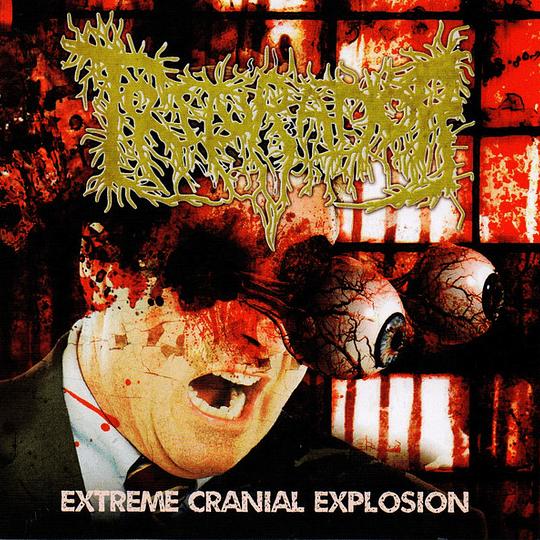 TRITURADOR - Extreme Cranial Explosion CD