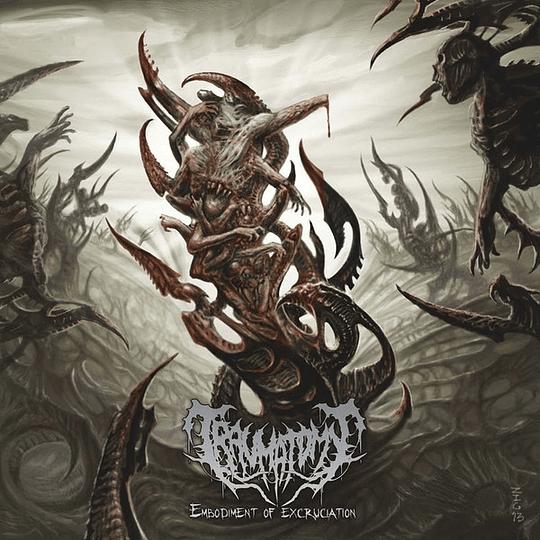 TRAUMATOMY - Embodiment of Excruciation CD