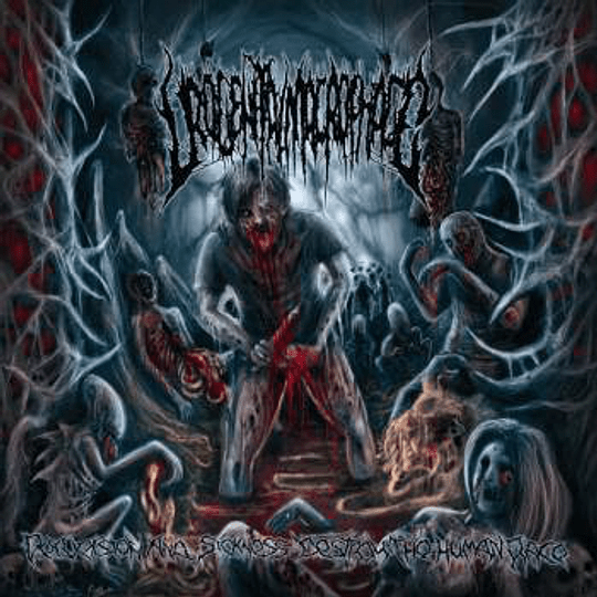 UROGENITAL MACROPHAGE - Perversion And Sickness Destroy The Human Race CD