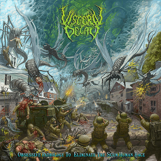 VISCERAL DECAY -  Obsessive Pathology To Eliminate The Scum Human Race CD