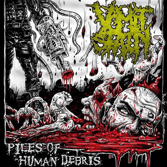 VOMIT STAIN - Piles Of Human Debris CD