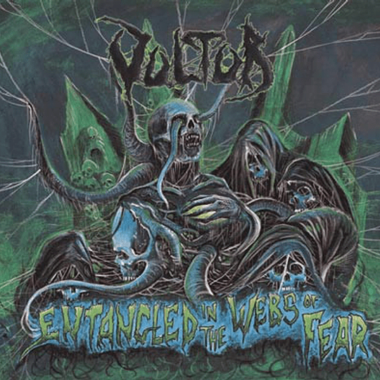 VULTUR - Entangled In The Webs Of Fears CD