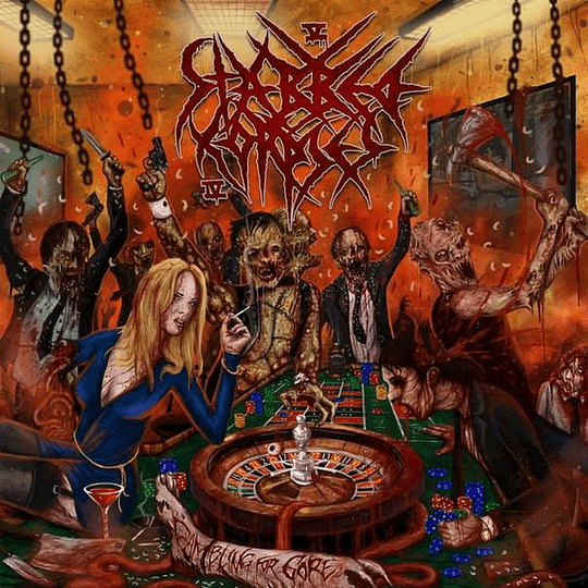 5 STABBED 4 CORPSES - Gambling For Gore CD