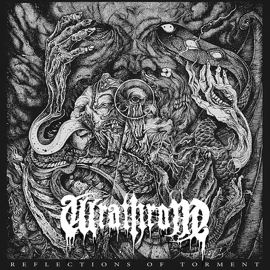 WRATHRONE - Reflections Of Torment CD