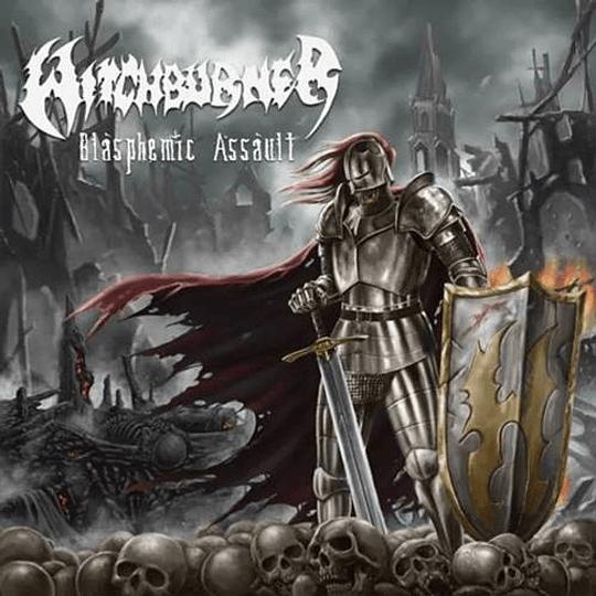 WITCHBURNER - Blasphemic Assault CD