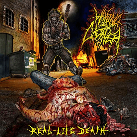 WAKING THE CADAVER - Real-Life Death CD