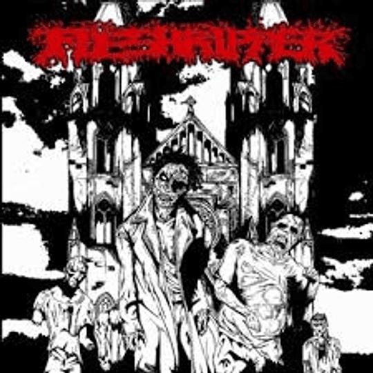 FLESHRIPPER / OBLITERATION - Fleshripper - Obliteration SPLIT CD