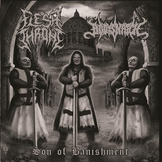 FLESH THRONE / BODY SNATCH - Son of Banishment SPLIT CD