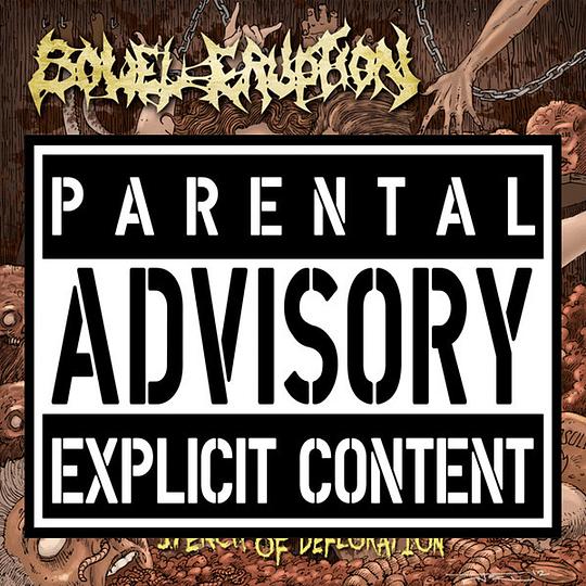 INFESTATION / ORGAN GRINDER / BOWEL ERUPTION - Perversion 3 WAY SPLIT CD