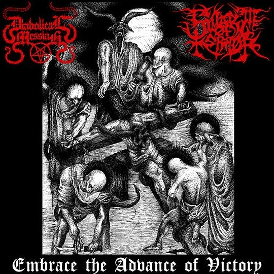 DIABOLICAL MESSIAH / SWARM OF TERROR - Embrace The Advance Of Victory SPLIT CD