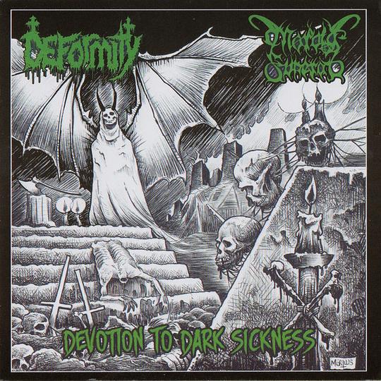 MORBID FUNERAL / DEFORMITY - Devotion To Dark Sickness SPLIT CD