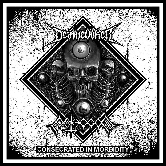 DEATHEVOKER / PATHOGEN - Consecrated In Morbidity SPLIT CD