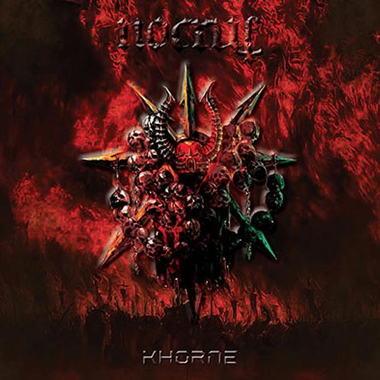 NOCRUL /SKULLTHRONE - Khorne / Demo III SPLIT CD