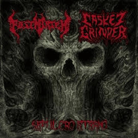 POSTMORTEM / CASKET GRINDER - Sepulcro Eterno SPLIT CD