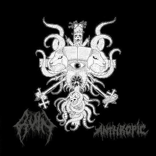 RUIN / ANTHROPIC - SPLIT CD