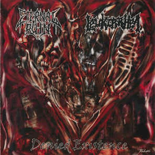 ETERNAL RUIN / LEUKORRHEA - Denied Existence SPLIT CD