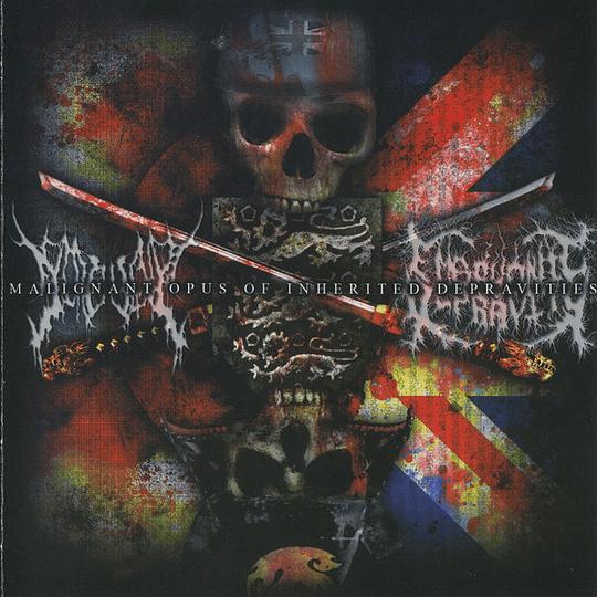 EMBRYONIC DEPRAVITY / GOREVENT - Malignant Opus Of Inherited Depravities CD