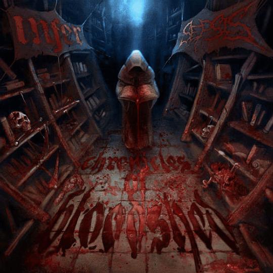 INFER / SEPSIS - Chronicles Of Bloodshed SPLIT CD