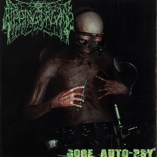 FECALIZER / GORESPLATTERED / RIPPING ORGANS - Dead Human Toilet / Gore Fucking Bless You / Gore Auto-Psy 3 WAY SPLIT CD