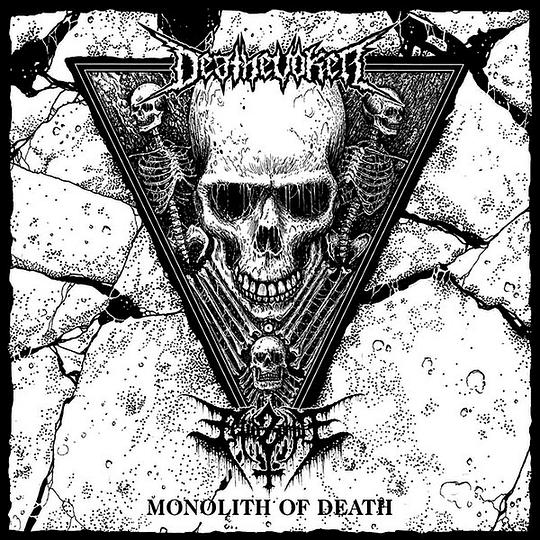 FETID ZOMBIE / DEATHEVOKER - Monolith Of Death SPLIT CD