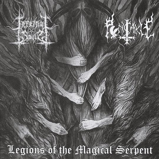 INFERNAL SOULS / PENTAKLE - Legions Of The Magical Serpent SPLIT CD