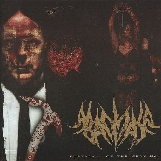ABACINATE / GOD-ROT - Portrayal Of The Gray Man / The Decayed State... SPLIT CD