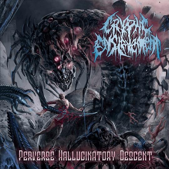 CRYPTIC ENSLAVEMENT - Perverse Hallucinatory Descent CD