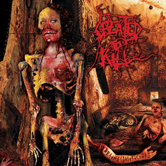 CREATED TO KILL - Death's Construction CD
