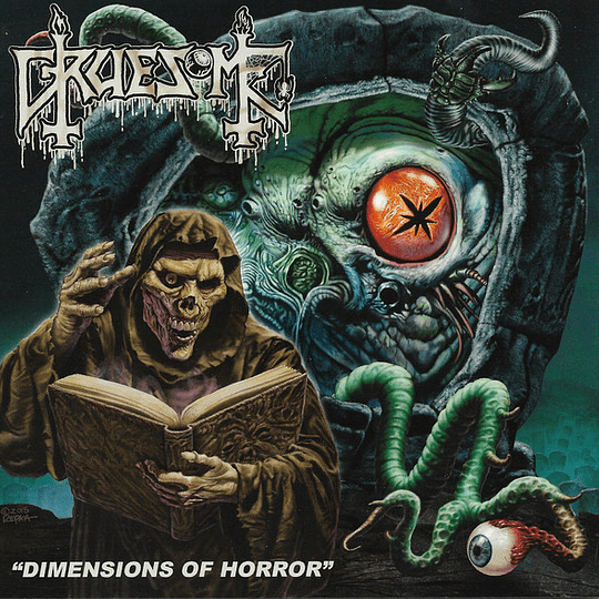 GRUESOME - Dimensions Of Horror CD