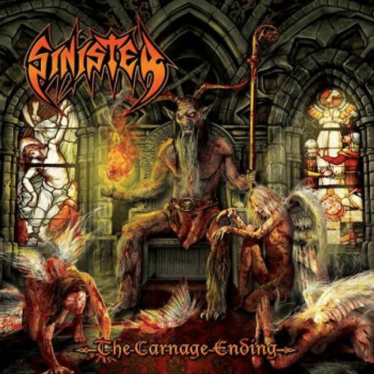 SINISTER - The Carnage Ending CD