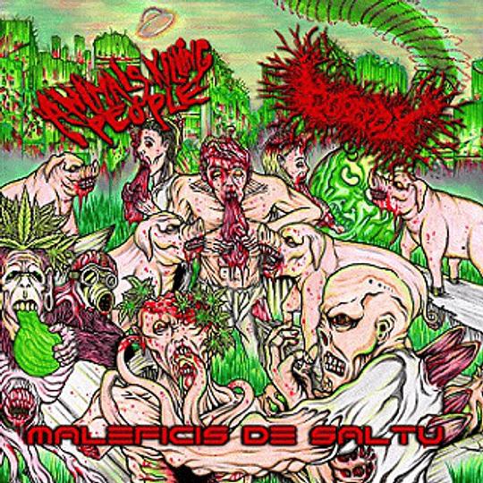 ANIMALS KILLING PEOPLE / GOREPOT - Maleficis de Saltu (Sorcery Of The Jungle) CD