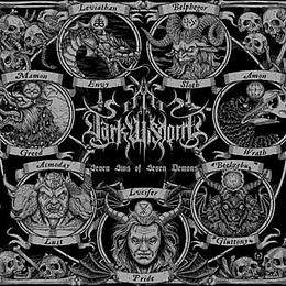 DARK WISDOM - Seven Sins Of Seven Demons DIGIPACK CD