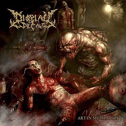 DISPLAY OF DECAY - Art In Mutilation DIGIPACK CD