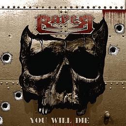 RAPER - You Will Die DIGIPACK CD